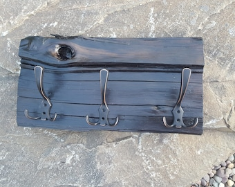 Rustic, One of a Kind Coat or Towel Rack