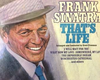"""Vintage Frank Sinatra  """"That's Life"""" LP Music Album 1966 Album"""