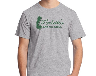 Merlotte's Bar and Grill Direct to Garment T-Shirt in Grey or White