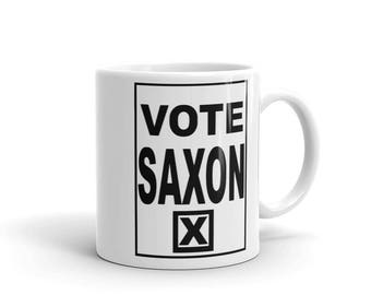 Vote Saxon The Master -Mug