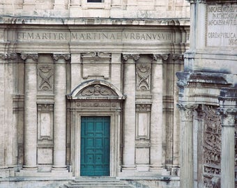 "Roman Forum Photograph, Architecture Art, Rome Italy Wall Art Print, Architecture Photography, Wall Decor, Columns ""Empire"""