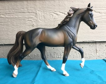 Custom Breyer Horse - Liver Chestnut Tennessee Walking Horse TWH