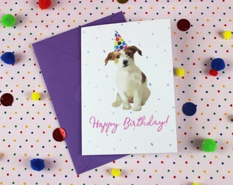Jack russell card etsy jack russell birthday card dog birthday card dog card boyfriend card bookmarktalkfo Image collections
