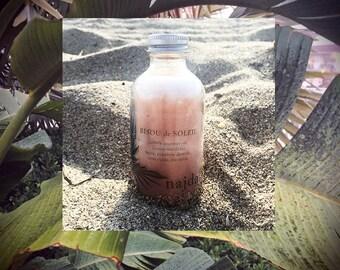 BISOU DE SOLEIL // Coconut Body Oil // Natural Shimmer Glow