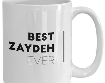 Best zaydeh ever - awesome father's day gift, present for jewish grandpa or new grandfather who speaks yiddish