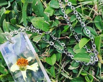 Florida wildflower necklace