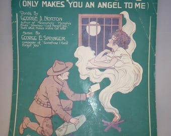 That Wee Bit of Devil in Your Irish Eyes sheet music from 1918