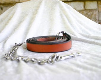 Leather Horse Lead