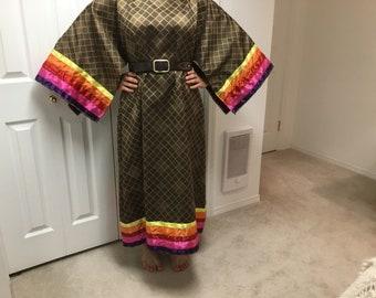 Ribbon t- dress