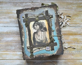 Gypsy Witch Junk Journal, Magic Junk Journal, Fortune Teller Journal, Gypsy Junk Journal, Book of Shadows, Book of Spells, Gypsy Spell Book
