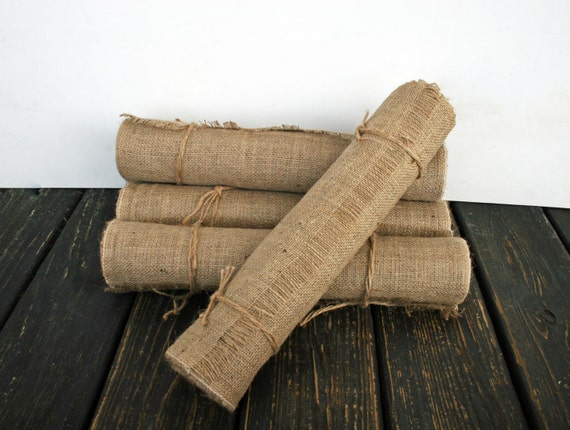 Table Runner, 20 Inch Wide by 72 Inch Long Burlap Table Runner