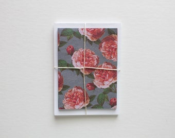 stationary cards, blank cards, blank notecards, note card set, stationary set, modern stationary, card set, note cards, floral stationery