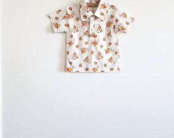 Vintage Polyester Bunny Shirt