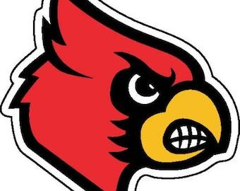 louisville cardinals etsy rh etsy com