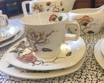 Midwinter 'MingTree' by Jessie Tate tea set
