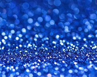 DARK BLUE Bio Glitter - Biodegradable Glitter- Festival Glitter-  Eco Glitter - Mermaid Glitter- Cosmetic Grade - 200 microns