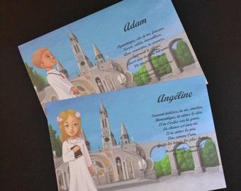 card name Lourdes