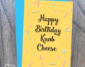 Une carte d'anniversaire coquine