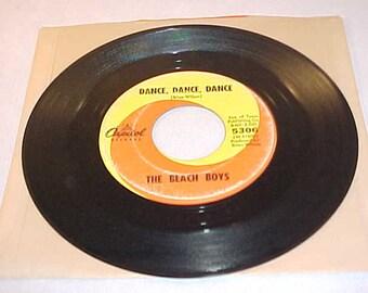 The Beach Boys - 45 Vinyl Record - Dance Dance Dance / The Warmth Of The Sun