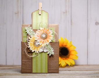 Sunflower Card 5-Pack Gift Set