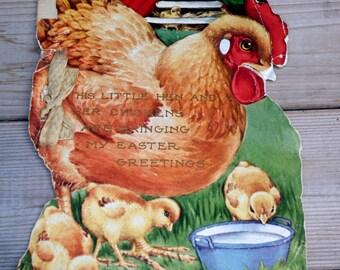 Vintage Easter Greeting Booklet