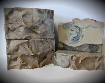 White Pumpkin Lilac scented soap, handmade soap, artisan soap, cold processed soap