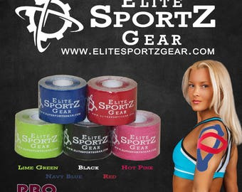 Athletic Sportz Tape™ - Kinesiology Tape - KT - Pro Extreme - Synthetic Materials - Extreme Conditions - Elite Sportz Gear - Crossfit