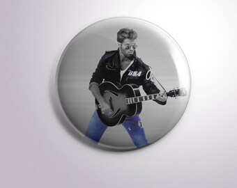 GEORGE MICHAEL WHAM - pins / buttons / magnets
