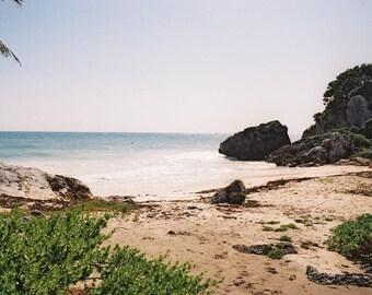 Empty Paradise Beach Photographic Print