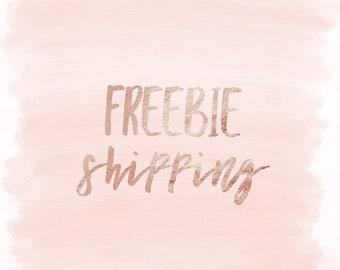 Freebie Shipping