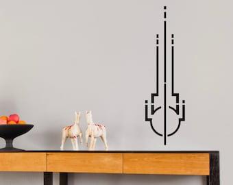Art Deco Symbol 1 ... Vinyl Wall Decal
