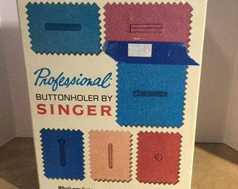 Singer Professional Buttonholer for Slant-Needle Zig-Zag Sewing Machine #102991