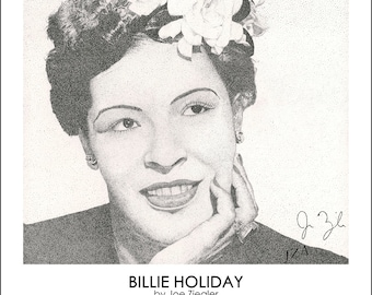 Limited Print: Billie Holiday
