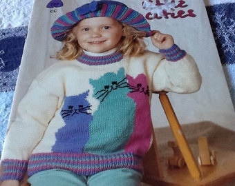 Patons Little Cuties - Knitting Patterns book Only