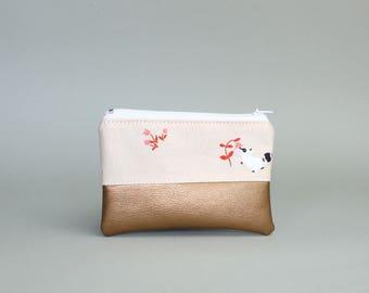 Mini Bag-raccoon Kuper-cosmetic bag-pencil-makeup bag-Make up bag-case-small bag-purse-vegan