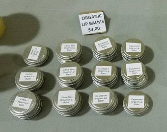 Organic Lip Balm - 1/2 oz