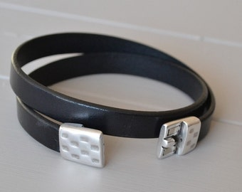 Mens Bracelets, Fathers Day Gift, Leather for Men, Mens Bracelet Leather