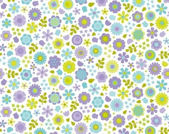 extra15 30% OFF Under The Sea By Doodlebug Design Purple Flowers
