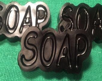 Spirulin- grapefruit soap