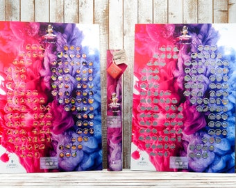 Kamasutra SEX  Poster GAME- Unique gift, Sex Scratchable Poster, Gift for her and for him, Personal gift, Birthday Gift, 1 Anniversary Gift