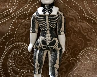 1910 Anatomical Art Doll OOAK