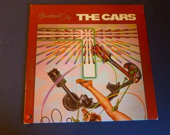 The Cars Heartbeat City Vinyl Record LP ST-E-60296-1-A Electra Records 1984