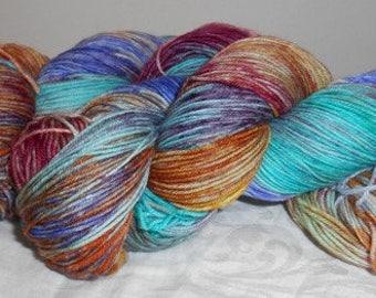 Handdyed Sock Yarn 4ply CC18/502