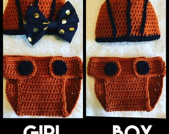 Crochet Baby Basketball Set
