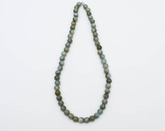 Use Code NEXT0RDER to get 10% off Green Jade, Jade Jewelry, Green Beaded Necklace, Green Jewelry, Chunky Bead Necklace, Large Stone Beads