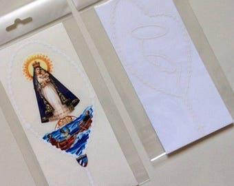Caridad del Cobre  & Virgen María Adhesive car sticker