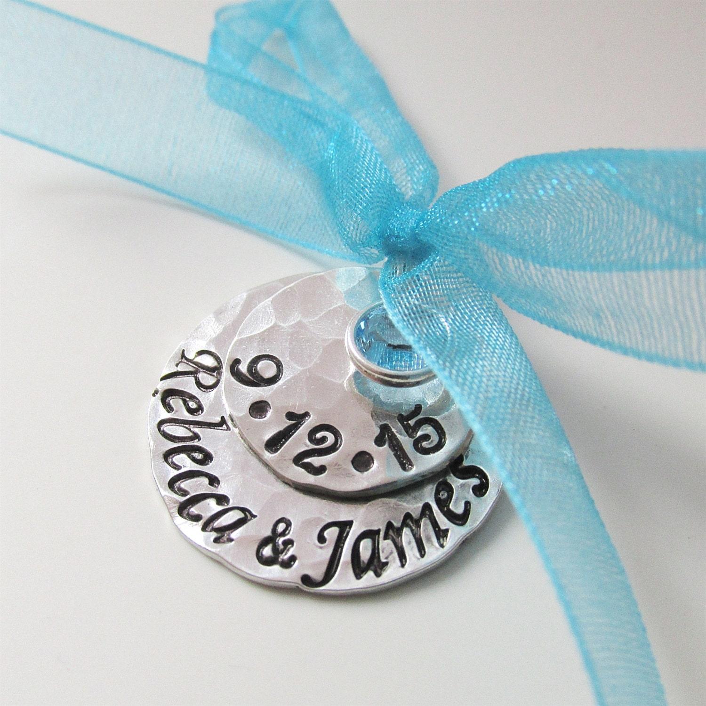 Something Blue For Wedding: Something Blue Bridal Charm Custom Wedding Charm Hand