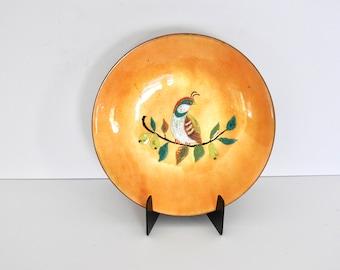 Decorative Enamel Dish- Partridge in a Pear Tree