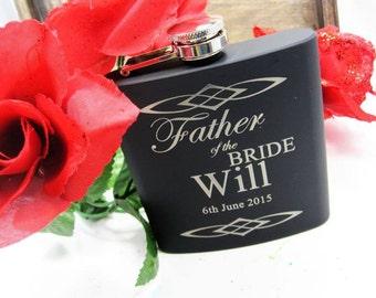 10 Groomsman Flask Wedding Gift