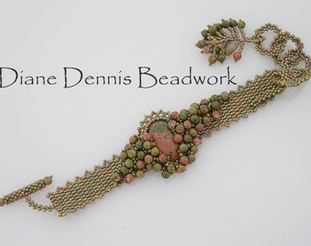 Digital Instructions for Unakite Cascade Bracelet